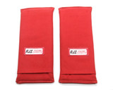3in Harness Pads Red