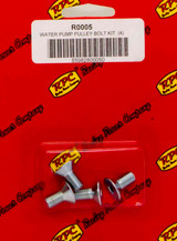 Bolt Kit For SBC/BBC Alum LWP Pulley 4pk