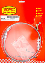 Stainless Throttle Cable 24in