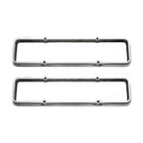SB Chevy Valve Cover Spacer 1In Polished