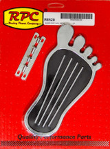 Gas Pedal Barefoot Chrom Steel