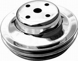 BB Chevy Double Groove Long Water Pump Pulley