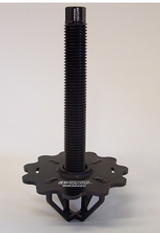 Short spring cup with an 8'' long 1'' coarse screw jack