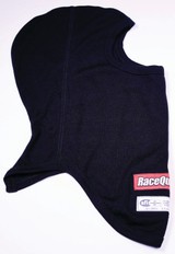 Headsock FR Black Double Layer SFI 3.3