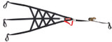 Roll Cage Net Right Side Black SFI 37.1
