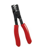 "Weather pack pliers will crimp most popular 10-22 gauge non-insulated terminals. 8"" overall length."