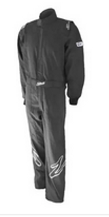 ZR-10 RACE YOUTH SUIT BLACK YOUTH SMALL SINGLE LAYER