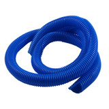 3/4in Convoluted Tubing 4' Blue