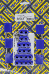 7-8mm Vertical Wire Loom Kit Blue