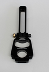 """A Wehrs Machine Original Innovation, clamp on mounts for 1/2""""-20 hood pins. This is our hinged style mount for angled hoods/bay bars so the pin can get square with the body. This is our 7-1/2"""" tall mount for 1-1/4"""" tube. Height is measured from BOTTOM of tube to top of mount. See accessories tab for hood pin options."""