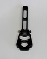 """A Wehrs Machine Original Innovation, clamp on mounts for 1/2""""-20 hood pins. This is our hinged style mount for angled hoods/bay bars so the pin can get square with the body. This is our 8-1/2"""" tall mount for 1-1/4"""" tube. Height is measured from BOTTOM of tube to top of mount. See accessories tab for hood pin options."""