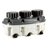 Reservoir Plastic 3- Chamber Low Profile -4an