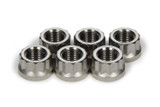 Torque Tube Nut Set 6pcs Titanium 12pt