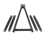 Jacobs Ladder 13-5/8in w/Straps Black 3-Hole