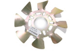 Brake Fan - LH Aluminum 5x4-1/2 to 5-1/8 w/ .625