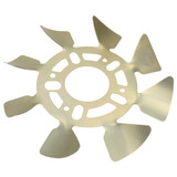 Brake Fan - RH Aluminum 5x4-1/2 to 5-1/8 w/ .625