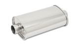 STREETPOWER Oval Muffler 4in inlet/outlet