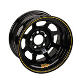 Aero 15x7 Black Wheels Hobby Stock