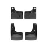 Black No Drill MudFlaps 18-  Ford Expedition Max