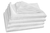 TechCare White Microfibe r Cleaning Cloths 4 Pack