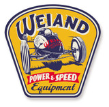 Weiand Metal Sign