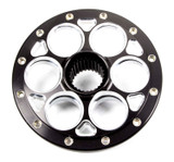 Mini Sprint Wheel Center 10in 27 Spline Black