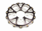 5x4.75 Rear Wheel Center V-Series Drag - Black