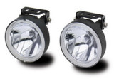 Small Round Off Road Lights Pair