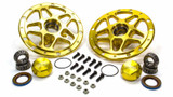 Forged Alum Direct Mount Front Hub Kit