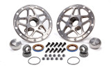 Forged Alum Direct Mount Front Hub Kit Silver