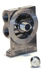 Remote Oil Filter Mount 3/4-16 Dual Inlet/Outlet