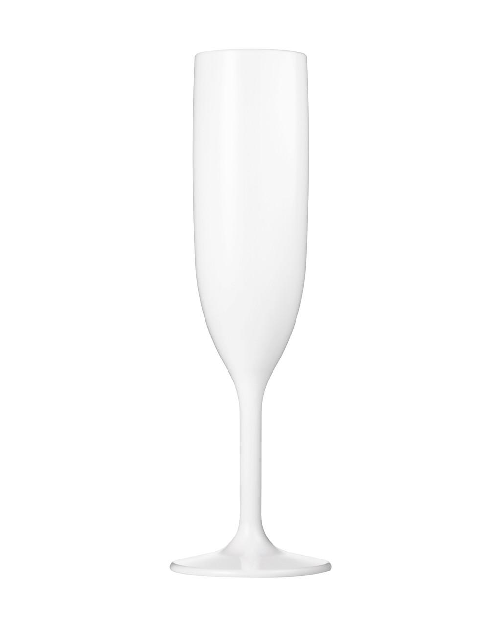 dishwasher safe Unbreakable Tritan champagne glasses x 8