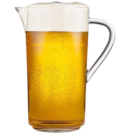 Drinique Unbreakable Tritan Stackable Pitcher 64 oz. Beer