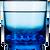 Drinique Elite Rocks Glass 10 oz in Blue