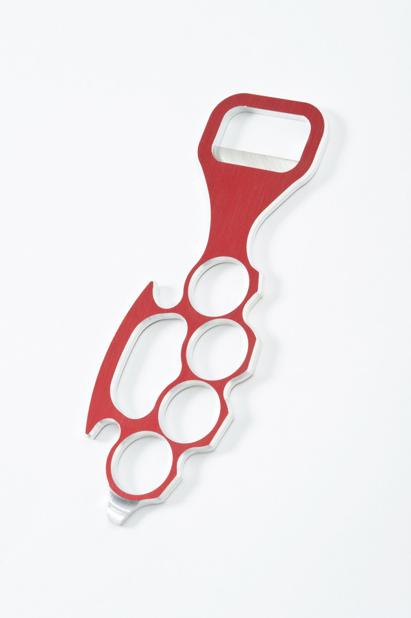 Lady Knuckle Bottle Opener in Red