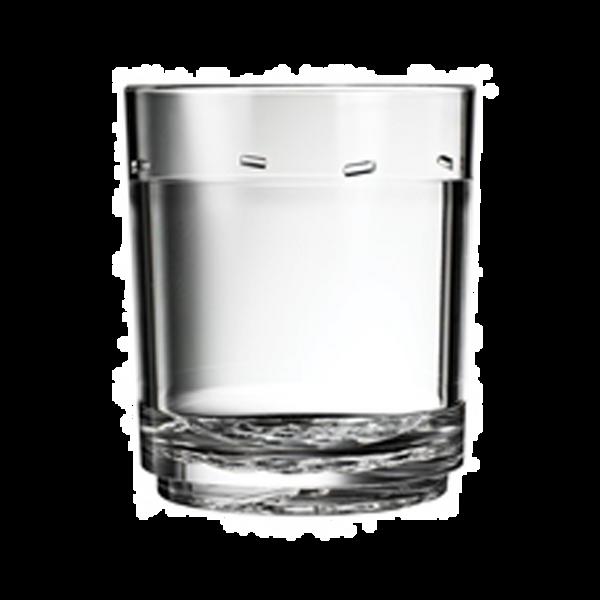 Drinique Classic Tumbler 12 Ounce Clear
