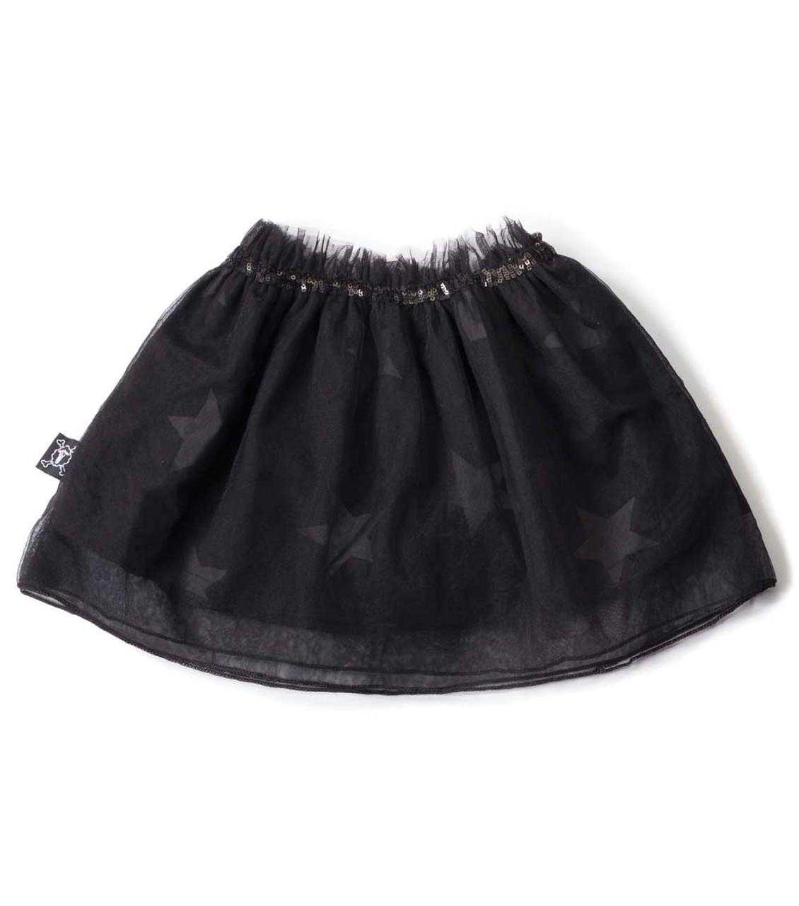 c1231ef73f Nununu Black Tulle Star Skirt