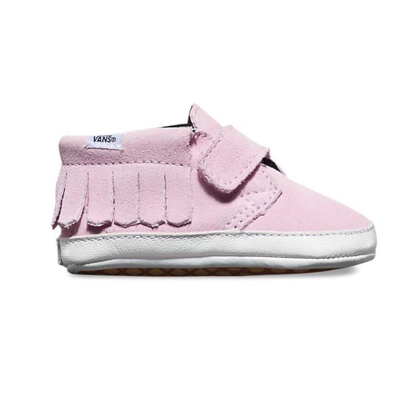 Vans Baby Infant Suede Chukka V Moc Mist Pink Shoes c202f1d3c