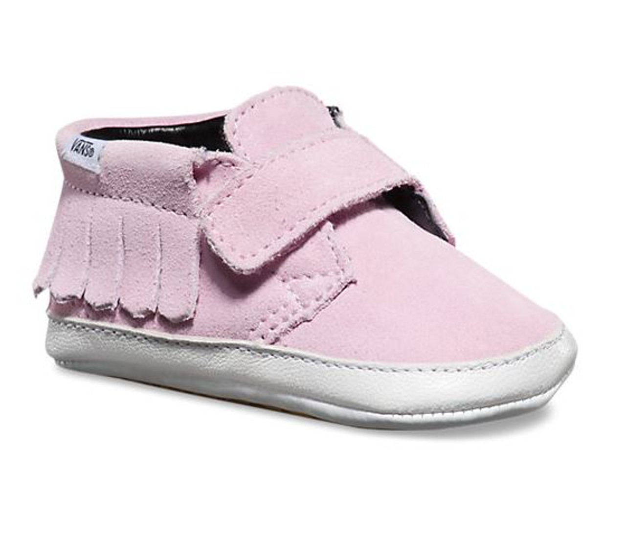42910e251d3d08 Vans Baby Infant Suede Chukka V Moc Mist Pink Shoes