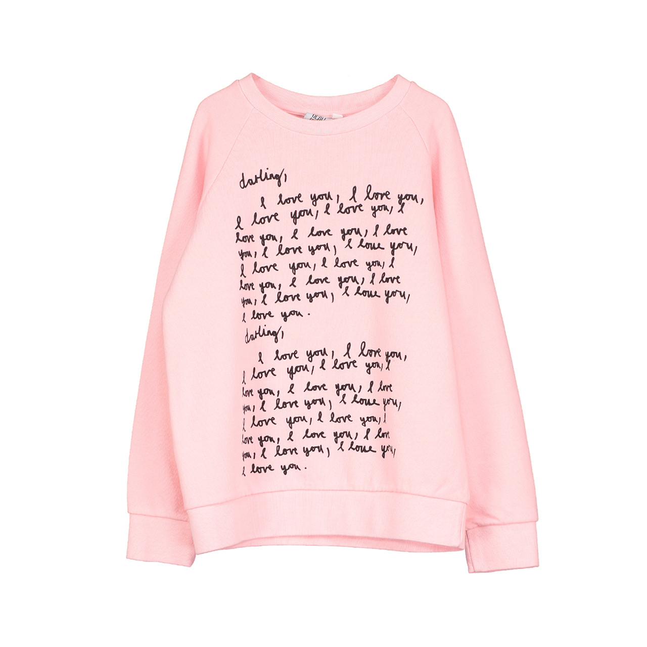 2f1839d85 Beau LOves Darling I Love You Chalk Pink Sweater