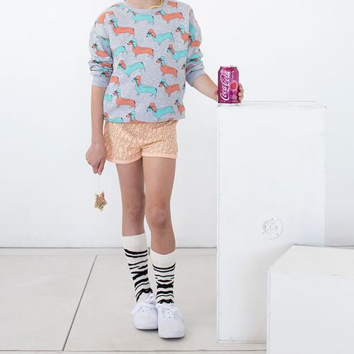 Bolt Shorts Apricot