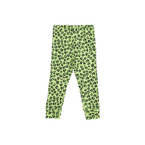 Green Leopard Leggings