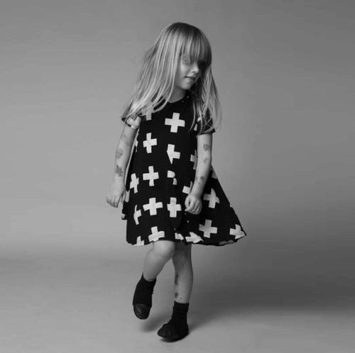 Black Plus 360 Dress