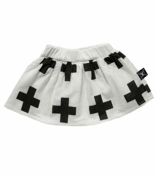White Plus Skirt