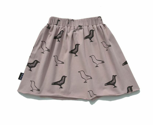 Organic Dusty Rose Raven Skirt