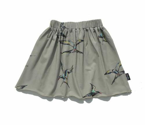 Organic Grey Raven Skirt