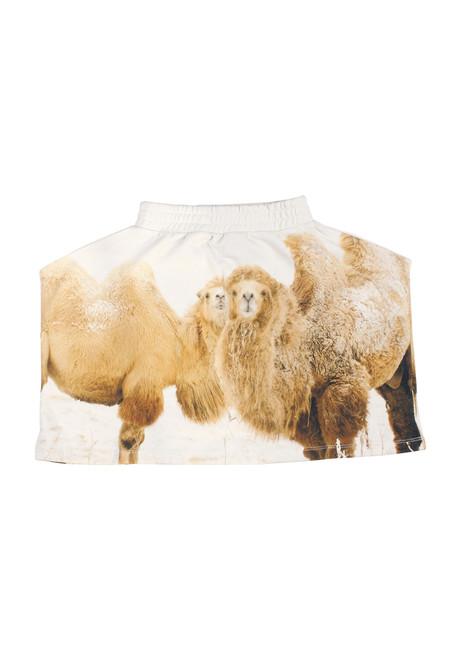 Camel Square Skirt