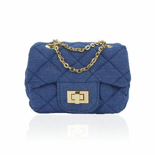 Ava Light Denim Mini Bag