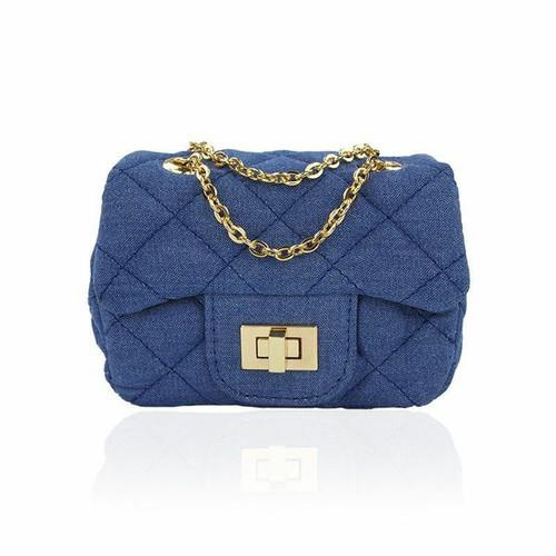 Ava Light Denim Mini Bag