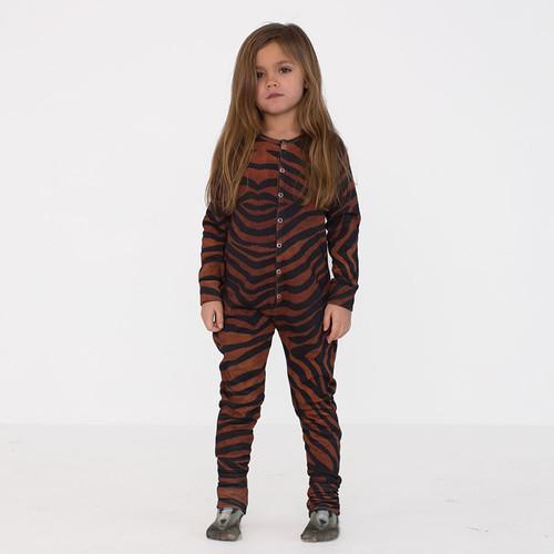 One Piece Suit Zebra